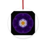 Iris II Ornament (Round)