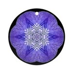 Iris I Ornament (Round)