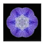 Iris I Tile Coaster