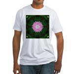 Dianthus I Fitted T-Shirt