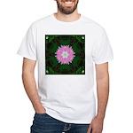 Dianthus I White T-Shirt