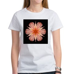 Salmon Daylily Women's T-Shirt