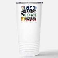 Blessing 5 Autistic Grandson Travel Mug