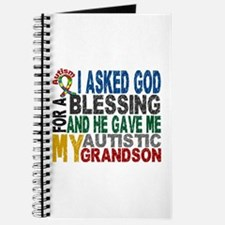 Blessing 5 Autistic Grandson Journal