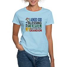 Blessing 5 Autistic Grandson T-Shirt