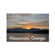 Hiawassee, Georgia Rectangle Magnet