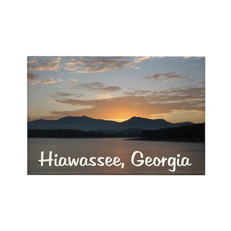 Hiawassee, Georgia Rectangle Magnet