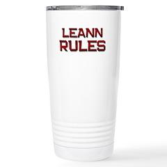 leann rules Travel Mug