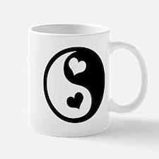 Heart Yin Yang Mug