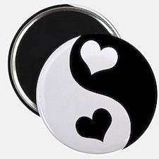Heart Yin Yang Magnet