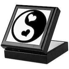 Heart Yin Yang Keepsake Box