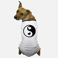 Heart Yin Yang Dog T-Shirt