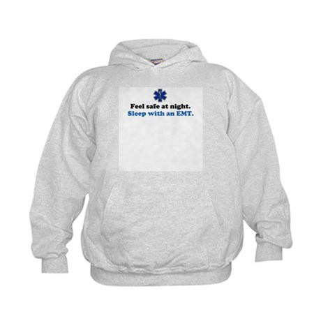 Sleep with an EMT Kids Hoodie