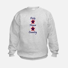 Duty, Honor, Country (1) Sweatshirt