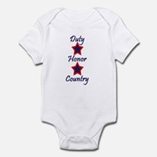 Duty, Honor, Country (1) Infant Bodysuit
