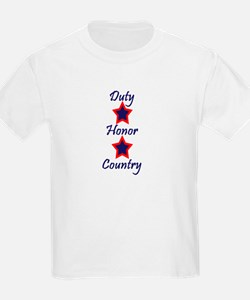Duty, Honor, Country (1) T-Shirt