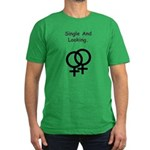 Female Gay Sex Symbol Single Men's Fitted T-Shirt