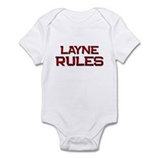 layne rules Infant Bodysuit