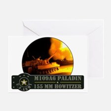 Paladin Howitzer Greeting Card