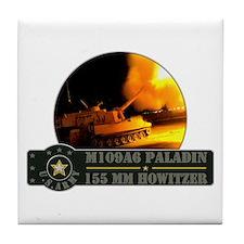 Paladin Howitzer Tile Coaster