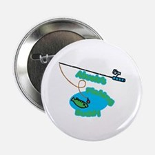 """Abuelo's Fishing Buddy 2.25"""" Button"""