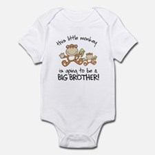 big brother t-shirts monkey Onesie
