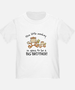 big brother t-shirts monkey T