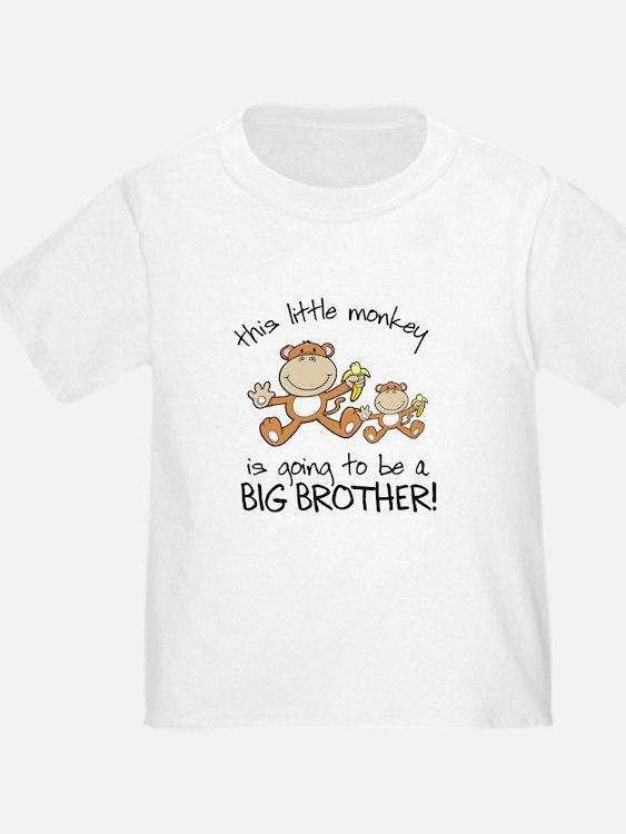 big brother t-shirts monkey T