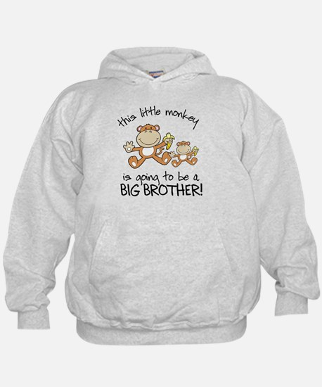 big brother t-shirts monkey Hoodie