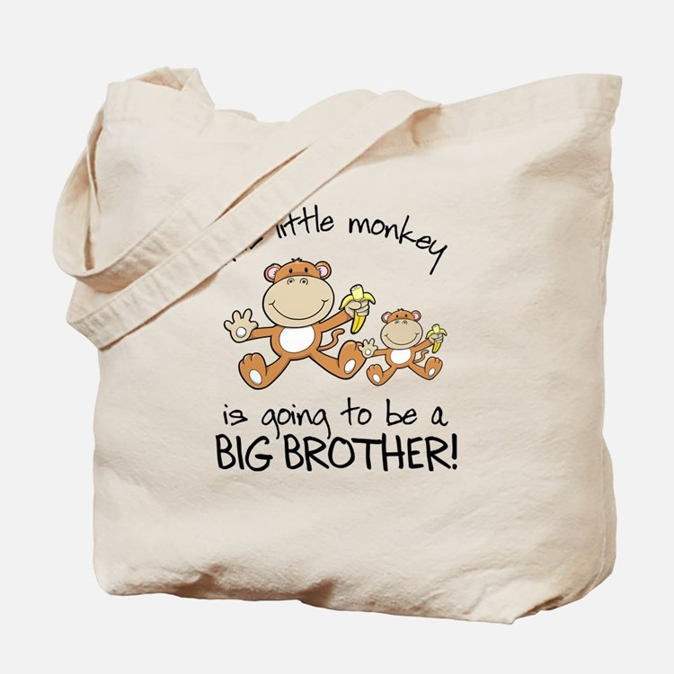 big brother t-shirts monkey Tote Bag