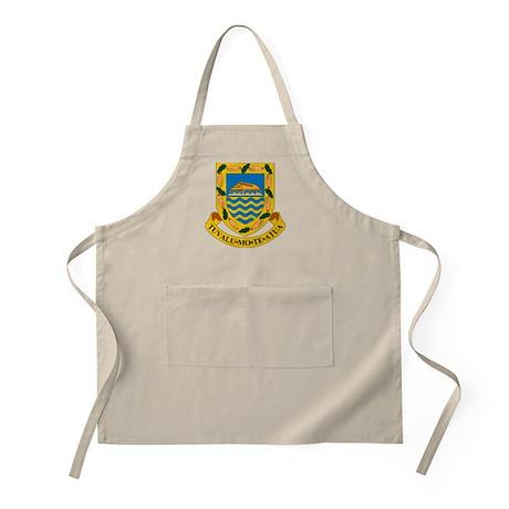 Tuvalu Coat of Arms BBQ Apron