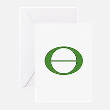 Earth Day Symbol Ecology Symb Greeting Cards (Pk o