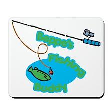 Beppe's Fishing Buddy Mousepad