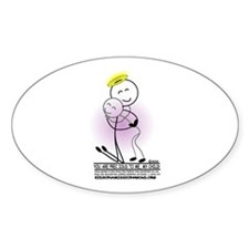You are Precious to Me! Oval Decal