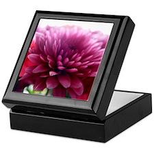 Purple Petals Keepsake Box