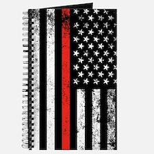 Firefighter Flag Journal