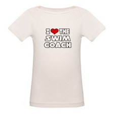 """I Love The Swim Coach"" Tee"