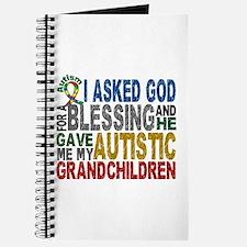 Blessing 5 Autistic Grandchildren Journal