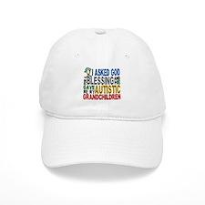 Blessing 5 Autistic Grandchildren Baseball Cap