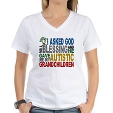 Blessing 5 Autistic Grandchildren Shirt