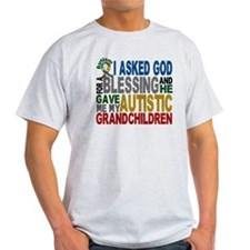 Blessing 5 Autistic Grandchildren T-Shirt