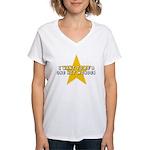 One Hit Wannabe Women's V-Neck T-Shirt