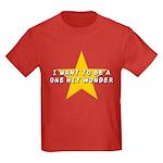 One Hit Wannabe Kids Dark T-Shirt