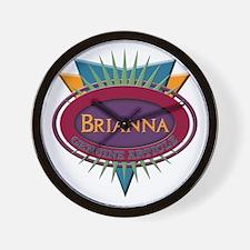 Brianna Wall Clock