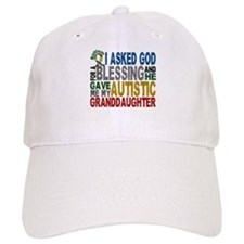 Blessing 5 Autistic Granddaughter Baseball Cap