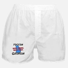 toccoa georgia - been there, done that Boxer Short