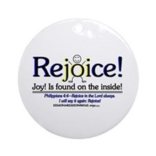 REJOICE! Ornament (Round)