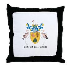 Turk Coat of Arms Seal Throw Pillow