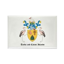 Turk Coat of Arms Seal Rectangle Magnet