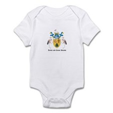 Turk Coat of Arms Seal Infant Bodysuit